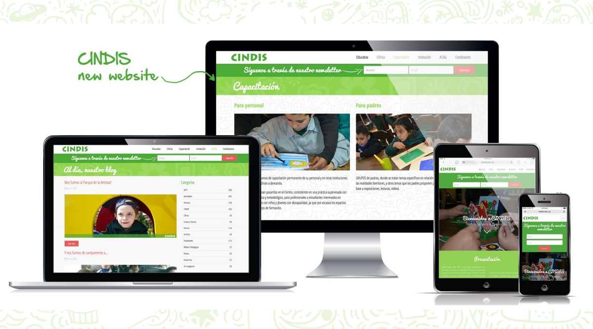 New web for CINDIS